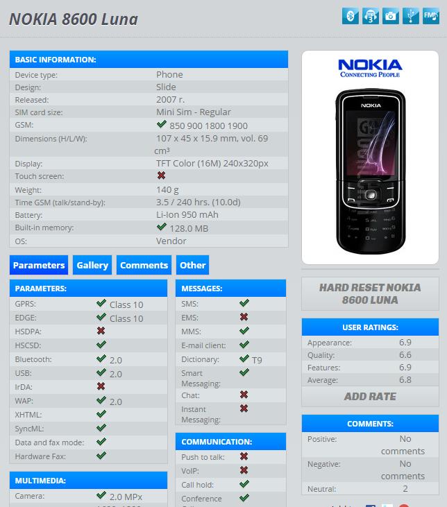 check kiểm tra Imei chuẩn của máy nokia 8600 chính hãng tại trang kiểm tra imei quốc tế