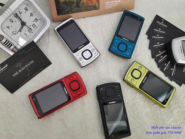 Nokia 6700 slide nắp trượt đủ màu