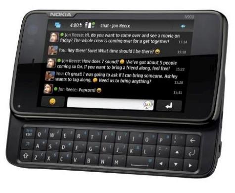 4. ĐIỆN THOẠI NOKIA BÀN PHÍM QWERTY N900