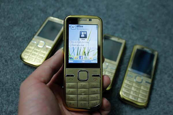 Bạn sẽ tìm thấy một loạt các ứng dụng phổ thông ở Nokia C5