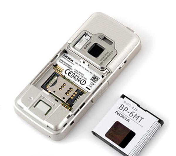 Pin Nokia N82 là BP-6MT với dung lượng 1050mAh