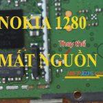 Nokia 1280 mất nguồn có dao động