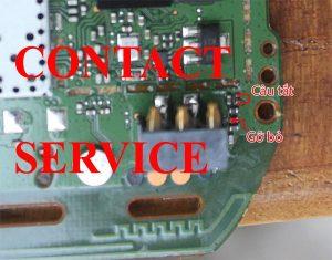 Nokia 1280 hiện contact service