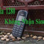 Nokia 1280 không nhận sim và cách khắc phục