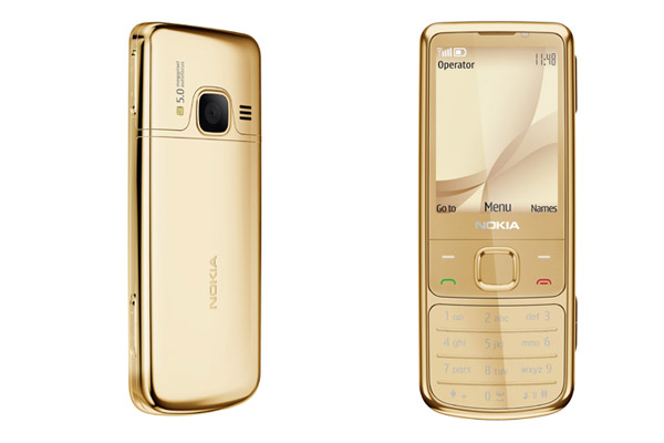 Nokia 6700 gold vỏ vàng nguyên bản