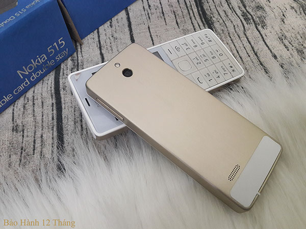 Điện thoại nokia 515 gold 2 sim chính hãng
